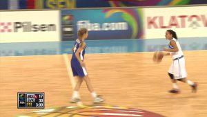 apjukums sieviešu basketbolā video