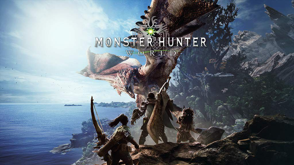 Monster hunter World videospēle ps4